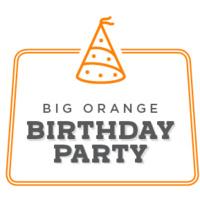 Big Orange Birthday Party
