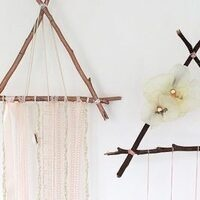 Triangle Twig Dreamcatcher