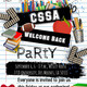 CSSA Welcome Back Party