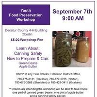 Youth Preservation Workshop