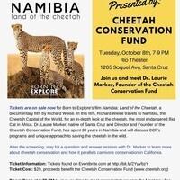 Namibia:  Land of the Cheetah, Born to Explore