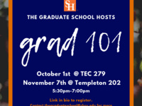 Graduate 101 Information Session