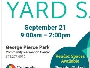 Fall Yard Sale