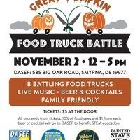 DASEF's 3rd Annual Great Pumpkin Food Truck Battle