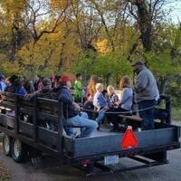 Fall Wagon Rides at Sullys Hill