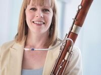 Kim Woolly, bassoon, assisted by Galit Kaunitz, oboe, and Michael Bunchman, piano