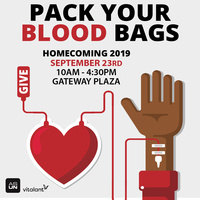 Homecoming: Pack your (Blood) Bags