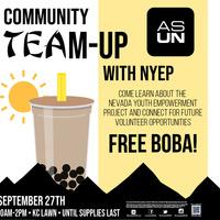 Homecoming: Community Team-Up