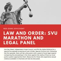 Red Zone: SVU Marathon & Legal Panel