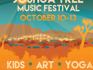 You are going to the 14th Annual Joshua Tree Music Festival