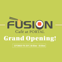Grand Opening: Fusion Cafe at Portal Featuring Sushi with Gusto