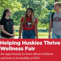 Helping Huskies Thrive Wellness Fair