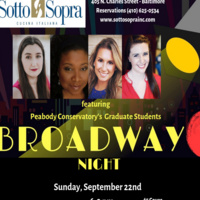 PEABODY NIGHTS - A SALUTE TO BROADWAY