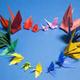 Paper Peace Cranes