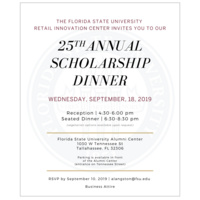 25th Annual Scholarship Dinner
