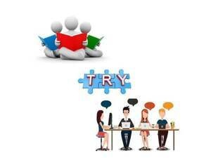Read, Try, Chat
