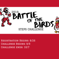 Battle of the Birds Steps Challenge