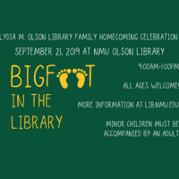 NMU Lydia M. Olson Library Family Homecoming Celebration