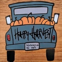 """Whet Your Palette """"Happy Harvest"""" Sign Painting Class"""