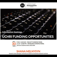 UCHRI Funding Opportunities Information Sessions
