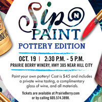Sip 'n Paint: Pottery Edition