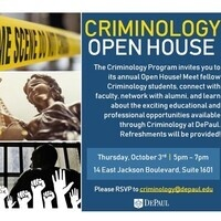 Criminology Open House
