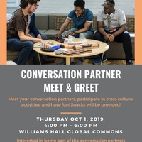 Conversation Partner Meet & Greet | International Affairs