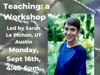 Trauma-informed Teaching: a Workshop with Sarah le Pichon, UT Austin