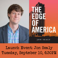 Launch Event for Jon Sealy!
