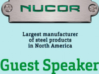 Nucor as Guest Speaker to ASME