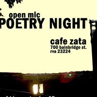 Poetry Night at Zata!