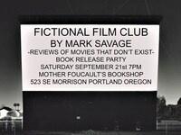 Fictional Film Club Book Release