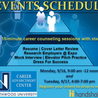 Drop in hours at the Career Advancement Center