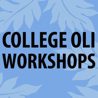 Oli Workshop Fall 2019 Series