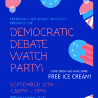Democratic Debate Watch Party