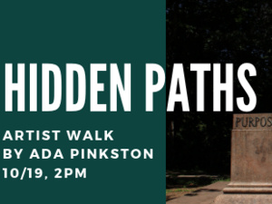 Hidden Paths: Artist-Led Walk by Ada Pinkston of Post-Colonial Monuments