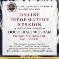Online Information Session on the Doctoral Program