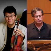 Lin He, violin, and Michael Gurt, piano