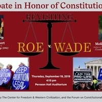 Constitution Day Debate: Revisiting Roe