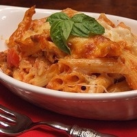 C-Cubed Luncheon- Baked Penne with Italian Sausage or Spinach and Creamy Ricotta