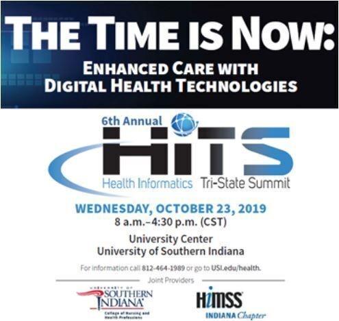 6th Annual Health Informatics Tri-State Summit at USI University Center West