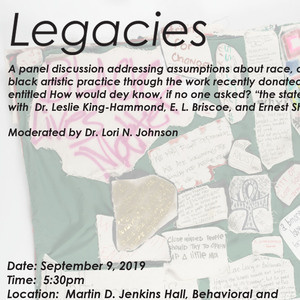 Legacies:  A Panel Discussion