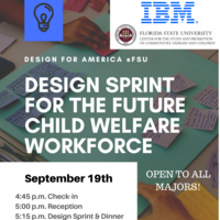 Design Sprint for the Future Child Welfare Workforce