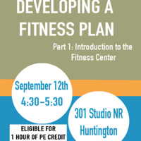Developing a Fitness Plan: Part I