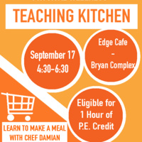 Teaching Kitchen: Learn to Make a Meal w/Chef Damian