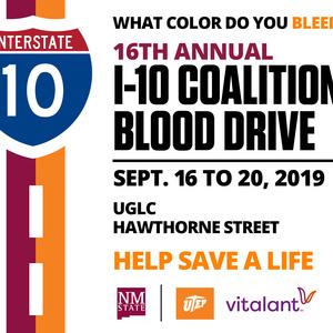 I-10 Coalition Blood Drive