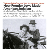 How Frontier Jews Made American Judaism