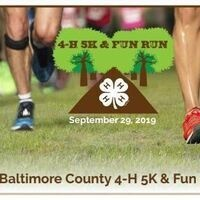 Baltimore County 4-H 5K and 4-Legged Frolic