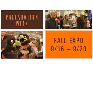 Preparation Week Fall Expo