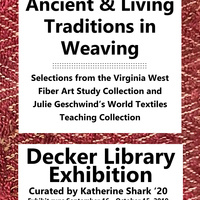 Exhibition: Ancient & Living Traditions in Weaving
